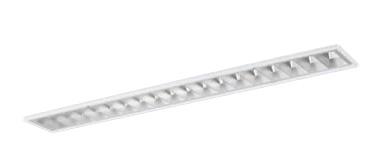 パナソニック Panasonic 施設照明一体型LEDベースライト 40形 埋込型 W150 白色美光色 6900lmタイプ Hf32形×2灯高出力型器具相当高効率OAコンフォート(アルミルーバ)CLASS埋込XLX463FBWJ LE9