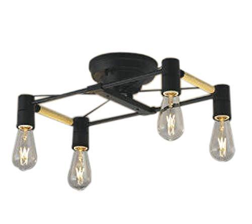 AA49037LLEDシャンデリア Risro 4灯らくピタII取付 電気工事不要 非調光 電球色 白熱球40W×4灯相当コイズミ照明 照明器具 おしゃれ ダイニング照明 インテリア照明