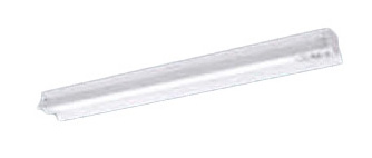 パナソニック Panasonic 施設照明一体型LEDベースライト iDシリーズ 非常用照明器具電池内蔵型 40形 防湿・防雨型 反射笠付型(W150) 30分間タイプ非常時LED高出力型 Hf32形定格出力型2灯器具相当5200lmタイプ 昼白色 非調光XWG452KGNLE9