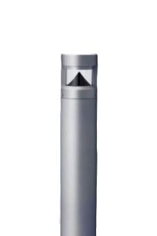 パナソニック Panasonic 施設照明LEDローポールライト 電球色全周配光タイプ 防雨型 地上高400mmパルックボール25形1灯器具相当XY2945KLE9