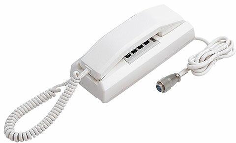 アイホン ビジネス向けインターホン保守用インターホン90局用3通話路式移動用親機YAZ-90-3AWH