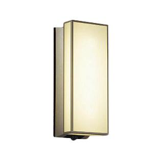 大光電機 照明器具LEDアウトドアライト ポーチ灯 人感センサー付マルチタイプ 電球色 白熱灯60W相当DWP-39600Y