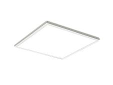 遠藤照明 施設照明LEDスクエアベースライト FLAT BASEシリーズ直付 フラット乳白パネル 600シリーズFHP45W×3器具相当 11000lmタイプ無線調光 温白色EFK9729W