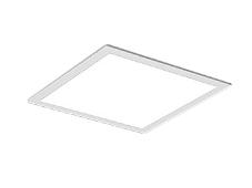 遠藤照明 施設照明LEDスクエアベースライト FLAT BASEシリーズ埋込 フラット乳白パネル 450シリーズFHP32W×3器具相当 6000lmタイプ無線調光 昼白色EFK9823W