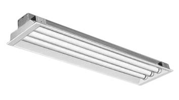 三菱電機 施設照明直管LEDランプ搭載ベースライト埋込形LDL40 300幅 下面開放タイプ3灯用 連続調光対応 2500lmクラスランプ付(昼白色)EL-LFB45703A AHX(25N5)