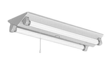 照明器具やエアコンの設置工事も承ります 電設資材の激安総合ショップ 三菱電機 豪華な 訳あり品送料無料 施設照明直管LEDランプ搭載ベースライト直付形LDL20 逆富士タイプ2灯用プルスイッチ付簡易連結具付 2灯→消灯 AHJ 13N4 EL-LKV2262 1300lmクラスランプ付 昼白色