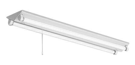EL-LKV4342B AHX(26N4)LDL40 逆富士タイプ2灯用プルスイッチ付 連続調光対応 2600lmクラスランプ付(昼白色)直管LEDランプ搭載ベースライト 直付形三菱電機 施設照明