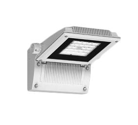 遠藤照明 施設照明LEDテクニカルブラケットライト SsシリーズCDM-T70W器具相当 Ss-24下向タイプ 横長配光 電球色 非調光ERB6014WA