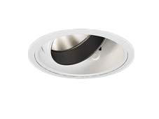 遠藤照明 施設照明LEDユニバーサルダウンライト DUAL-MシリーズD400 中角配光18° セラメタプレミアS70W相当 温白色ERD5909W