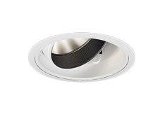 遠藤照明 施設照明LEDユニバーサルダウンライト DUAL-MシリーズD300 狭角配光10° CDM-T70W相当 電球色ERD5928W