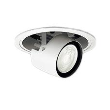 遠藤照明 施設照明LEDダウンスポットライト(アジャスタブルタイプ)埋込穴φ150 ARCHIシリーズセラメタプレミアS35W器具相当 2000タイプ36°広角配光 アパレルホワイトe 電球色ERD6784W