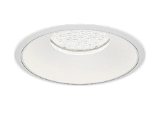 遠藤照明 施設照明LEDベースダウンライト白コーン 埋込穴φ300 Rsシリーズ水銀ランプ400W器具相当 8000タイプ54°超広角配光 ナチュラルホワイトERD7458W
