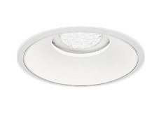 遠藤照明 施設照明LEDベースダウンライト白コーン 埋込穴φ250 Rsシリーズ6500/6000タイプ50°超広角配光 電球色ERD7477W