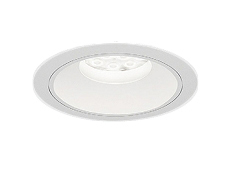 遠藤照明 施設照明LEDベースダウンライト白コーン 埋込穴φ150 RsシリーズFHT42W×2灯用器具相当 2400タイプ52°超広角配光 ナチュラルホワイトERD7512W