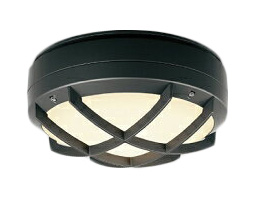 遠藤照明 施設照明LEDアウトドアシーリングライト STYLISH LEDZシリーズ軒下用 フロストクリプトン球40W形相当 電球色ERG5471B
