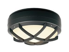 遠藤照明 施設照明LEDアウトドアシーリングライト STYLISH LEDZシリーズフロストクリプトン球40W形器具相当 電球色ERG5471BA