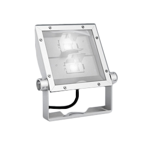 遠藤照明 施設照明軽量コンパクトLEDスポットライト(看板灯)ARCHIシリーズ 6000タイプ CDM-TP150W相当看板用配光(ワイドフラッド) 昼白色ERS5205W