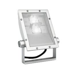 遠藤照明 施設照明軽量コンパクトLEDスポットライト(看板灯)ARCHIシリーズ 4000タイプ CDM-T70W相当看板用配光(ワイドフラッド) 昼白色ERS5217W