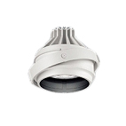 遠藤照明 施設照明LEDムービングジャイロシステム ARCHIシリーズCDM-R35W器具相当 1400タイプ59°超広角配光 電球色ERS6046W