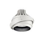 遠藤照明 施設照明LEDムービングジャイロシステム ARCHIシリーズCDM-R35W器具相当 1400タイプ30°広角配光 電球色 Hi-CRIクリアERS6051W