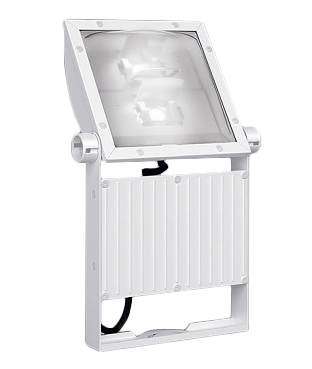 遠藤照明 施設照明LED軽量コンパクトスポットライト看板灯 ARCHIシリーズメタルハライドランプ400W器具相当 15000タイプ看板用配光 ナチュラルホワイト 非調光ERS6056W