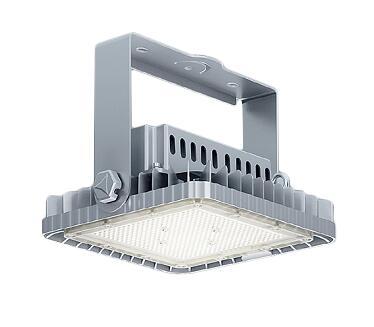 遠藤照明 施設照明LED耐塩軽量フラッドライト 高天井用電源内蔵 FLOODシリーズメタルハライドランプ400W器具相当 16500lmタイプ超広角配光53° 昼白色ERS6378S