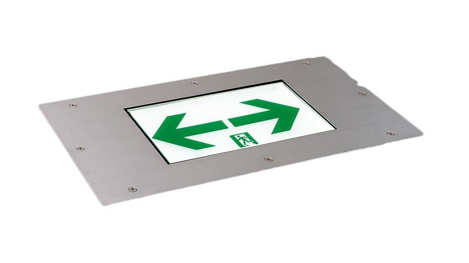 パナソニック Panasonic 施設照明防災照明 LED誘導灯 コンパクトスクエア【リニューアル対応型】床埋込型 C級(10形) 片面型FA10383LE1