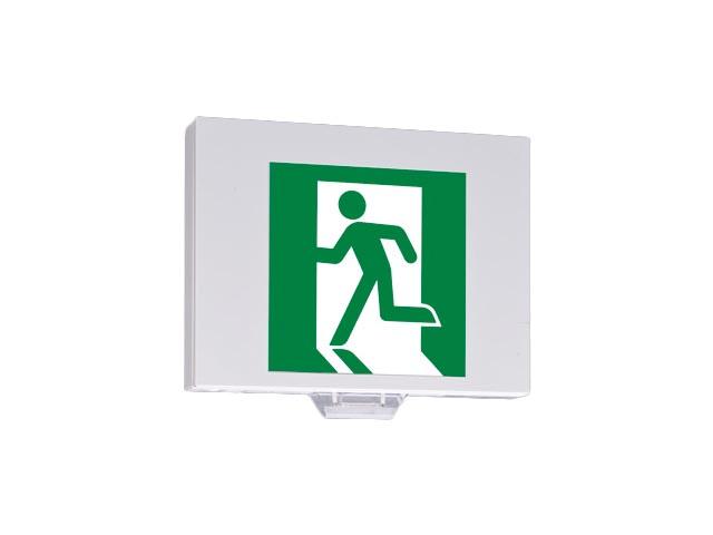 三菱電機 施設照明LED誘導灯 ルクセントLEDsシリーズ自己点検タイプ 壁・天井直付形・吊下兼用形一般形(20分間) B級BH形(20A形) 片面灯KSD4951A 1EL
