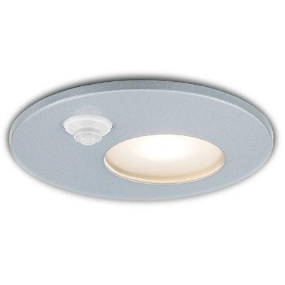 ◆東芝ライテック 照明器具アウトドアライト LEDユニットフラット形 軒下用ダウンライトON/OFFセンサー付 高気密SB型 白熱灯器具40WクラスLEDD85921Y(S) (推奨ランプセット)