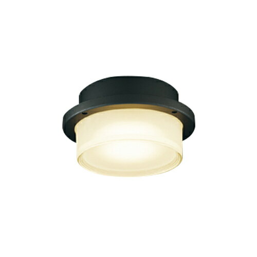 東芝ライテック 照明器具アウトドアライト LEDユニットフラット形 軒下シーリングライト白熱灯器具60WクラスLEDG85905(K)