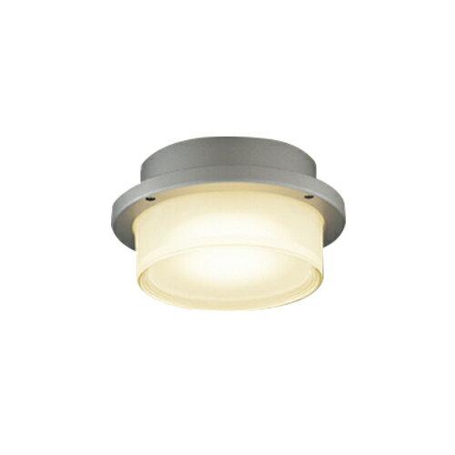 東芝ライテック 照明器具アウトドアライト LEDユニットフラット形 軒下シーリングライト白熱灯器具60WクラスLEDG85905(S)