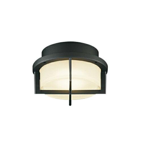東芝ライテック 照明器具アウトドアライト LEDユニットフラット形 軒下シーリングライト白熱灯器具60WクラスLEDG85906(K)