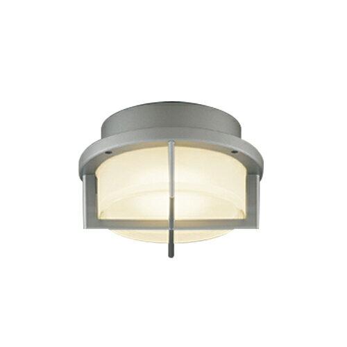 東芝ライテック 照明器具アウトドアライト LEDユニットフラット形 軒下シーリングライト白熱灯器具60WクラスLEDG85906(S)