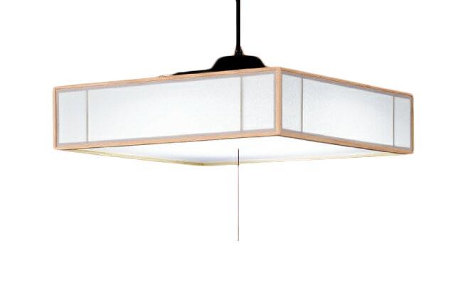 東芝ライテック 照明器具和風照明 プルかべリモコン LEDペンダントライト白香 昼白色・段調光LEDP81003PW-LD【~8畳】