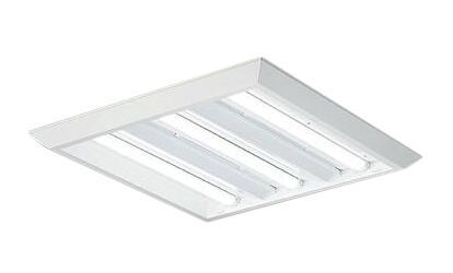 大光電機 施設照明LEDスクエアベースライト 直付形 下面開放 □600タイプFHP45W形ユニット×3灯 調光可 本体のみLZB-92694XW