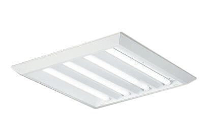 大光電機 施設照明LEDスクエアベースライト 直付形 下面開放 □600タイプFHP45W形ユニット×4灯 調光可 本体のみLZB-92696XW