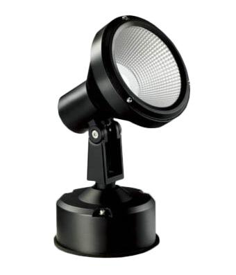マックスレイ 照明器具屋外照明 LEDスポットライト HID35Wクラス広角 白色(4000K) 非調光MS10401-02-97