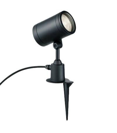 マックスレイ 照明器具屋外照明 LEDスパイクスポットライト φ110 高出力タイプ広角 電球色(2700K) 非調光 HID70WクラスMS10455-02-90
