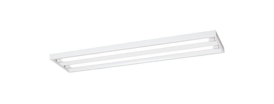 ◆【当店おすすめセット】Panasonic 施設照明直管LEDランプ搭載ベースライト 直付型スリムベースLDL40×2灯用 固定出力型2600lmクラス 昼白色ランプ付NNF42500LE9