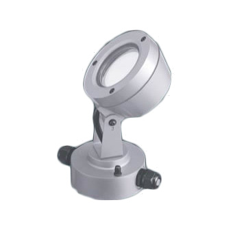 パナソニック Panasonic 施設照明LEDスポットライト 昼白色 ビーム角45度広角タイプ 防雨型 パネル付型 100形110Vダイクール電球130形1灯器具相当NNY24120SKLE9