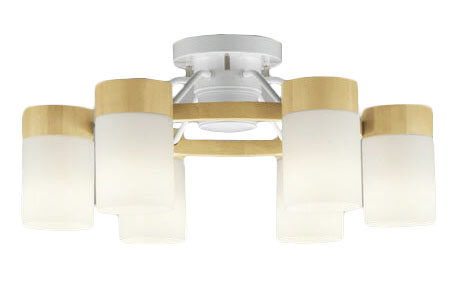 OC257063PCLEDシャンデリア 6灯 10畳用LC-CHANGE光色切替調光オーデリック 照明器具 居間・リビング向け おしゃれ 【~10畳】