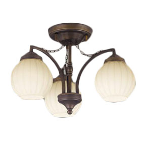 オーデリック 照明器具CONNECTED LIGHTING LEDシャンデリアLC-FREE 青tooth対応 調光・調色白熱灯60W×3灯相当OC257079BC