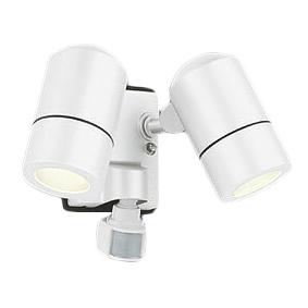 ★OG254557LDエクステリア LEDスポットライト電球色 防雨型 人感センサ付 白熱灯50W×2灯相当オーデリック 照明器具 アウトドアライト