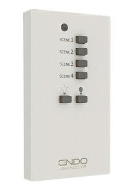 遠藤照明 施設照明部材Smart LEDZ 無線制御システム壁付リモコンRX-384W