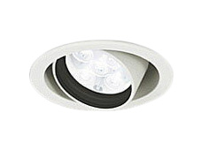 XD258390LEDユニバーサルダウンライトOPTGEAR(オプトギア) 埋込φ100 連続調光(PWM)白色 49° S750 JR12V-50Wクラスオーデリック 照明器具 飲食店用 天井照明