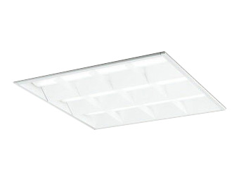XD466005B4DLED-スクエア LEDユニット型ベースライトスタンダードタイプ 600シリーズ埋込型 ルーバー付 埋込穴600Bluetooth調光 温白色 FHP45W×4灯相当オーデリック 施設照明 オフィス照明 物販店照明 天井照明