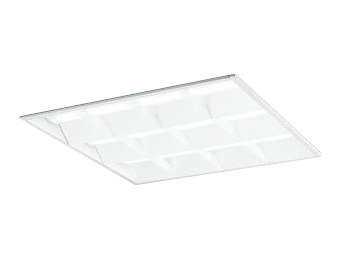 XD466013P4DLED-スクエア LEDユニット型ベースライトスタンダードタイプ 600シリーズ埋込型 ルーバー付 埋込穴600非調光 温白色 FHP45W×4灯相当オーデリック 施設照明 オフィス照明 物販店照明 天井照明