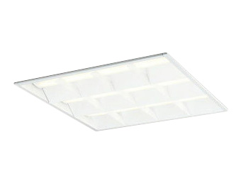 XD466013P4ELED-スクエア LEDユニット型ベースライトスタンダードタイプ 600シリーズ埋込型 ルーバー付 埋込穴600非調光 電球色 FHP45W×4灯相当オーデリック 施設照明 オフィス照明 物販店照明 天井照明