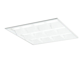 XD466014P4BLED-スクエア LEDユニット型ベースライトスタンダードタイプ 600シリーズ埋込型 ルーバー付 埋込穴600非調光 昼白色 FHP45W×3灯相当オーデリック 施設照明 オフィス照明 物販店照明 天井照明