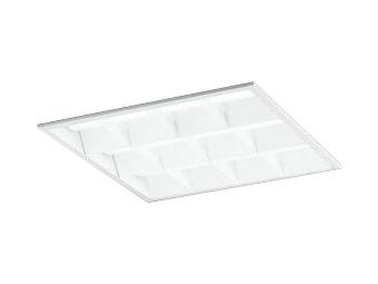 XD466015P3BLED-スクエア LEDユニット型ベースライトスタンダードタイプ 450シリーズ埋込型 ルーバー付 埋込穴450非調光 昼白色 FHP32W×4灯相当オーデリック 施設照明 オフィス照明 物販店照明 天井照明